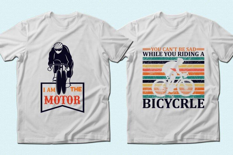 Vivid and stylish cyclist t-shirts.