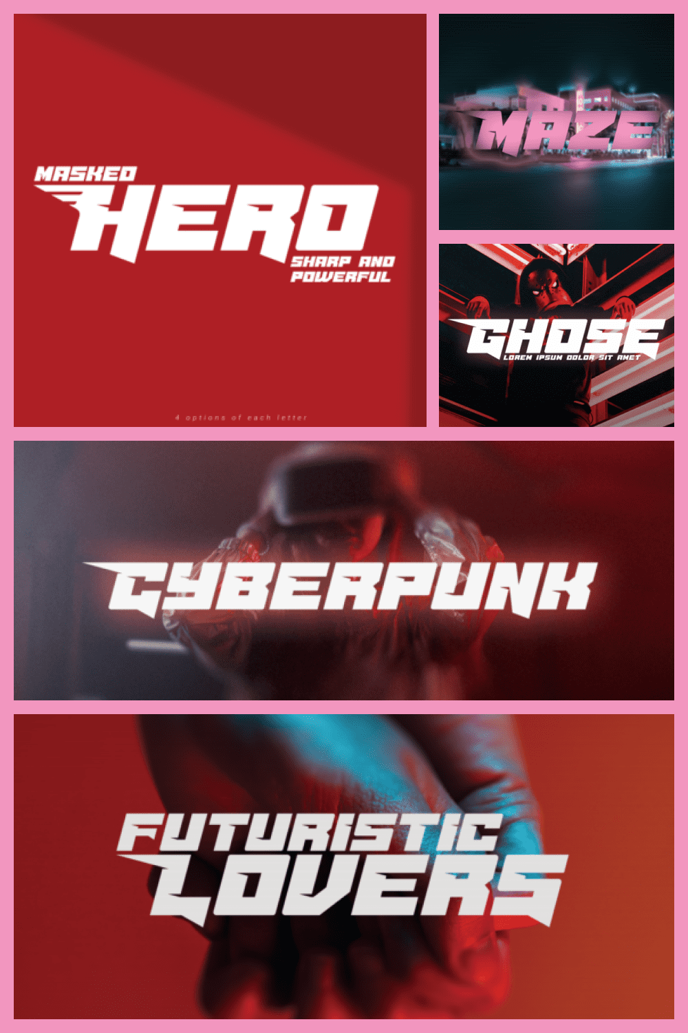 This is a sharp and bold display font. Masterfully designed to become a true favorite, this font has the potential to bring each of your creative ideas to the highest level.