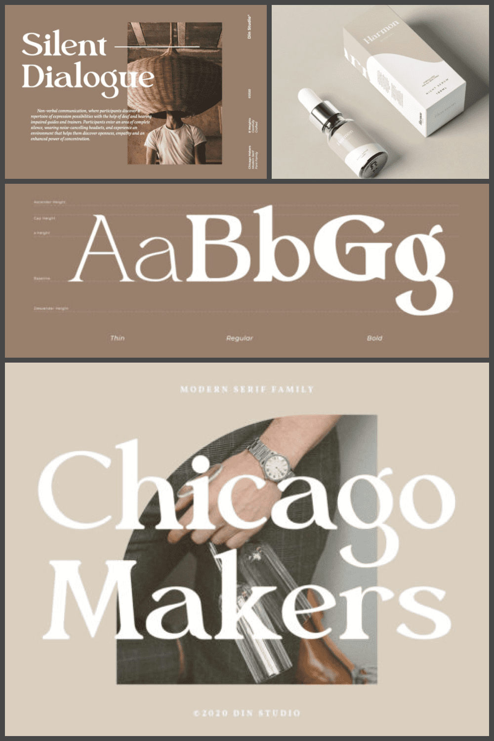 This is a clean, fresh and authentic serif font. It can easily be matched to an incredibly large set of projects.