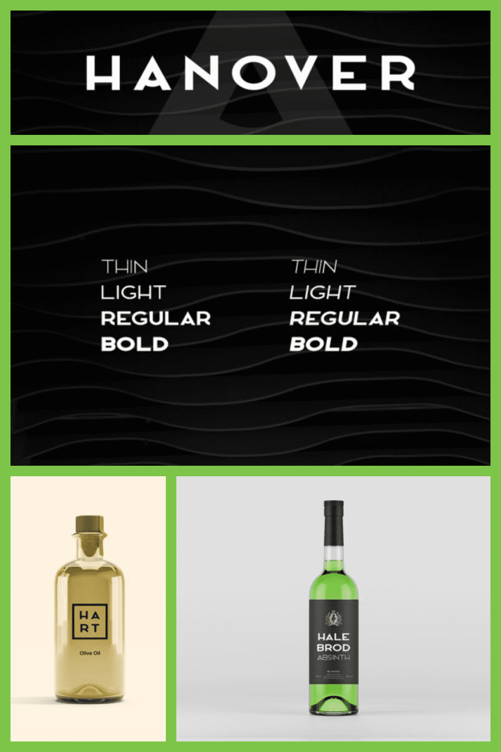 Stylish, luxurious, and modern, Hanover is the most amazing sans serif font.