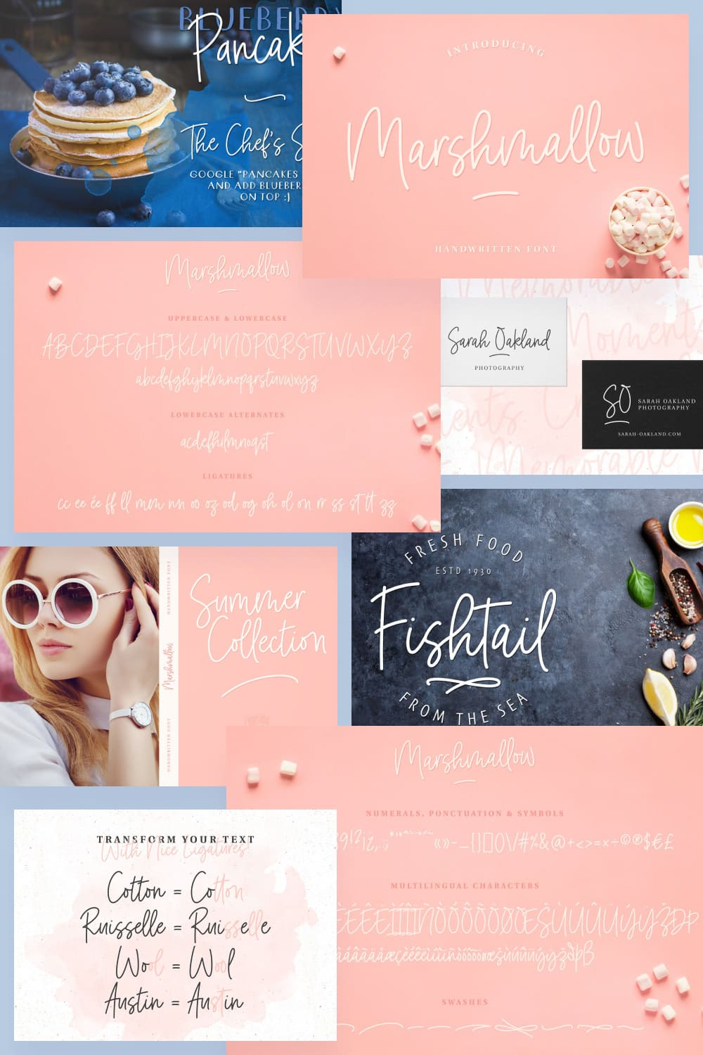 This is a cool and clean handwritten font featuring alternates, nice ligatures and swashes.
