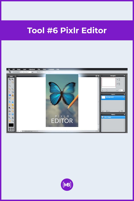 Pixlr Editor.