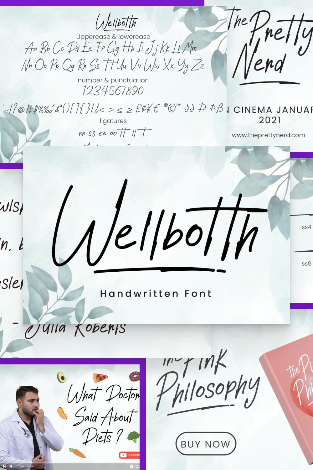 nspired by handwritten font cursive, signature font word that perfect for any design project you have.