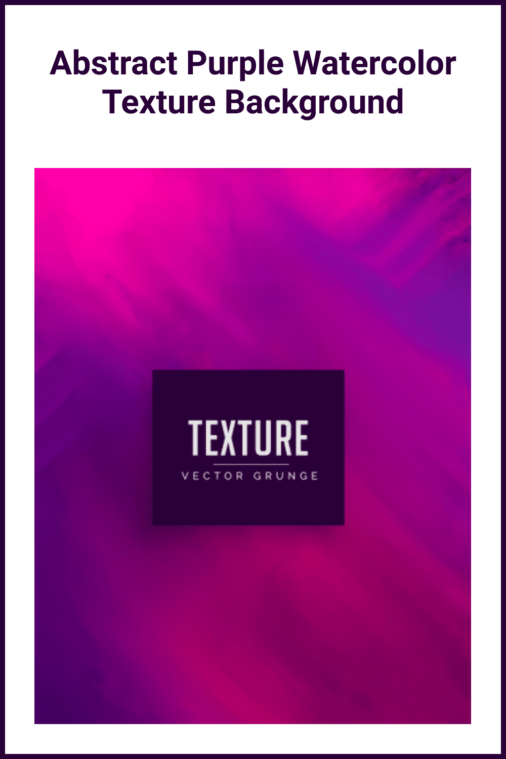 Abstract purple watercolor texture background.