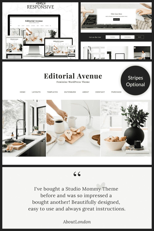 Modern template in a minimalist style. It's like a $ 20K designer kitchen.