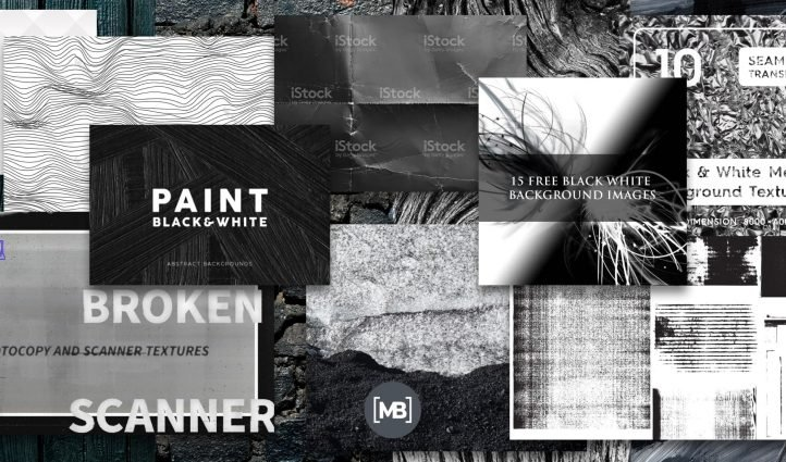Best Black and White Textures Post Example.