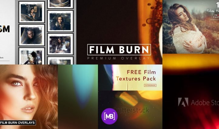 Best Film Burn Texture Post Example.