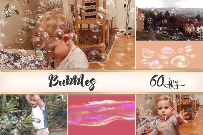 Bubbles Overlays Example.