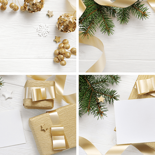 Christmas Background Mock Up with Smart Object cover image.