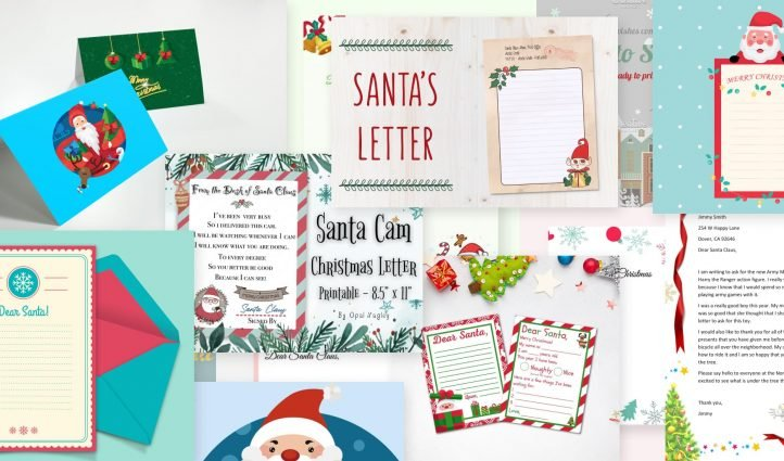 Christmas Letter Templates Post Example.