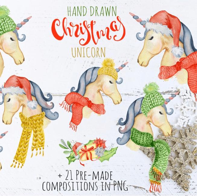 Christmas Unicorn Creator cover image.