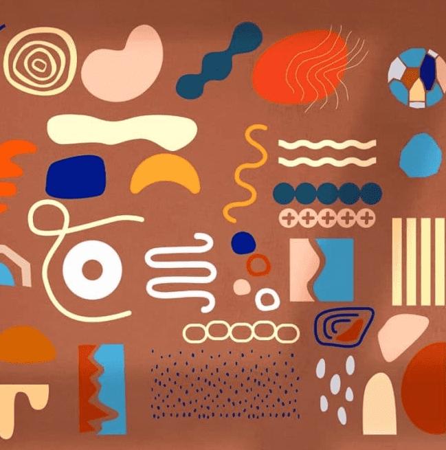 Josephine Branding Collage Set cover image.