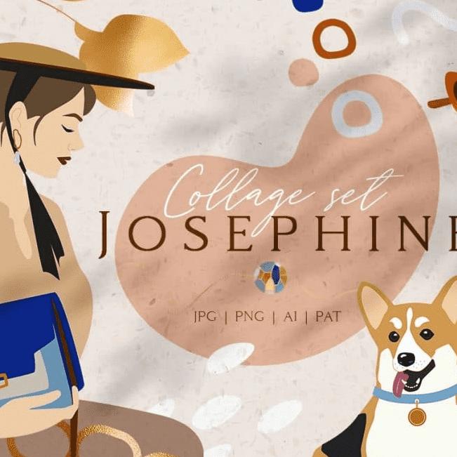 Josephine Branding Collage Set main cover.