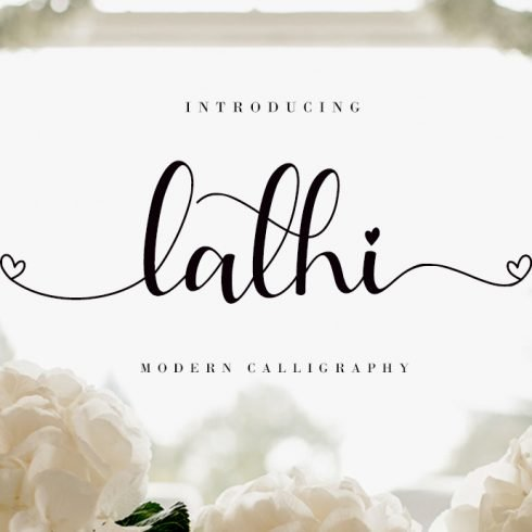 Lathi is a beautiful casual handwritten font with beginning and ending lowercase swashes, 94 ligatures that add more beautiful and aesthetic fonts to perfect your extraordinary project.