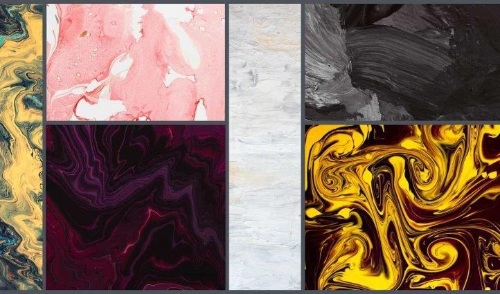 MT 10 Best Oil Paint Textures in 2021 Example.