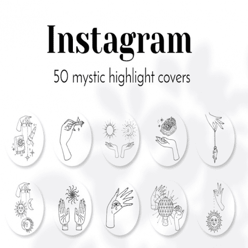 Mystic Instagram Story Covers main cover.