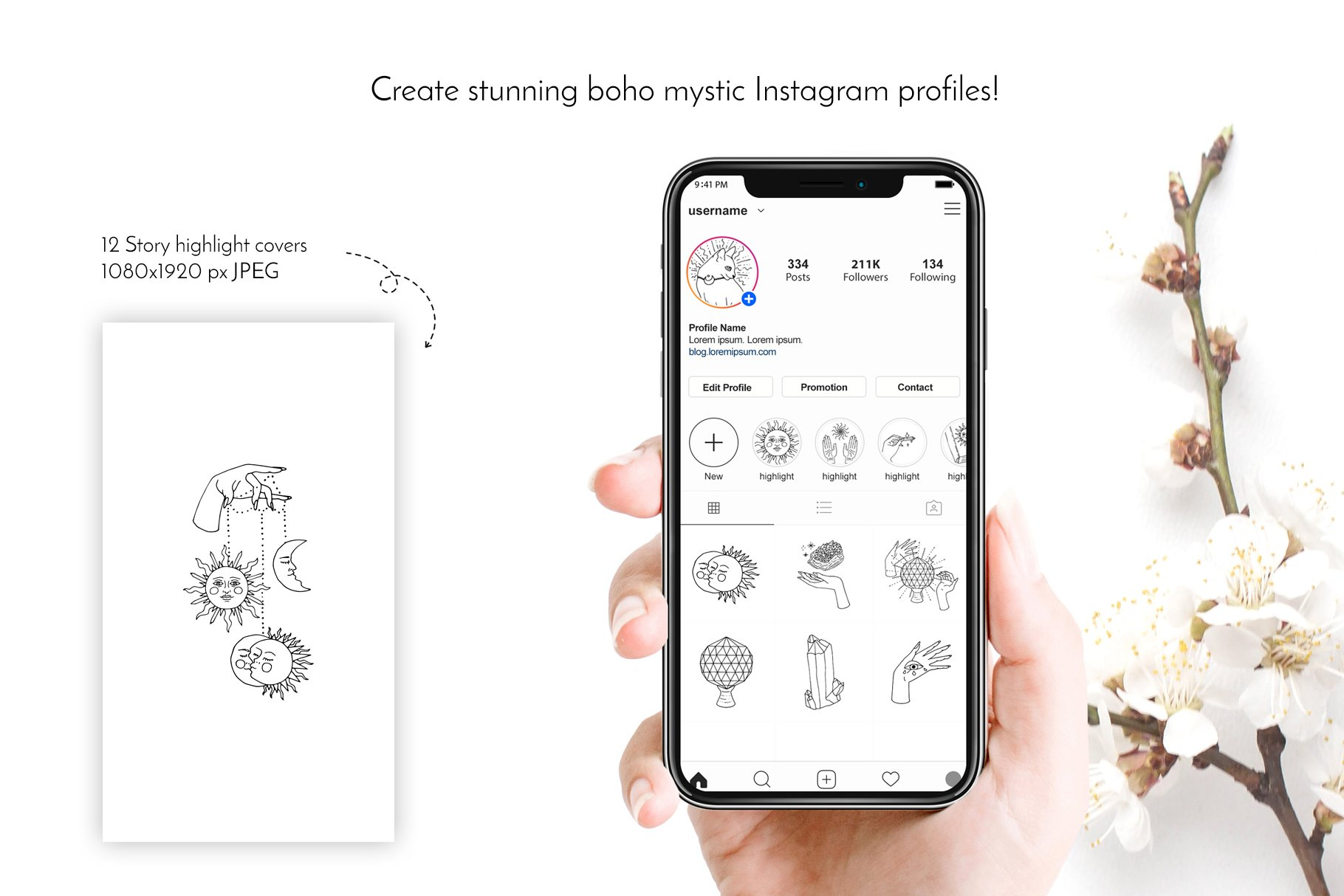 These icons are perfect for trending Instagram stories.