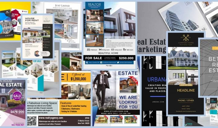 real estate flyers Example.