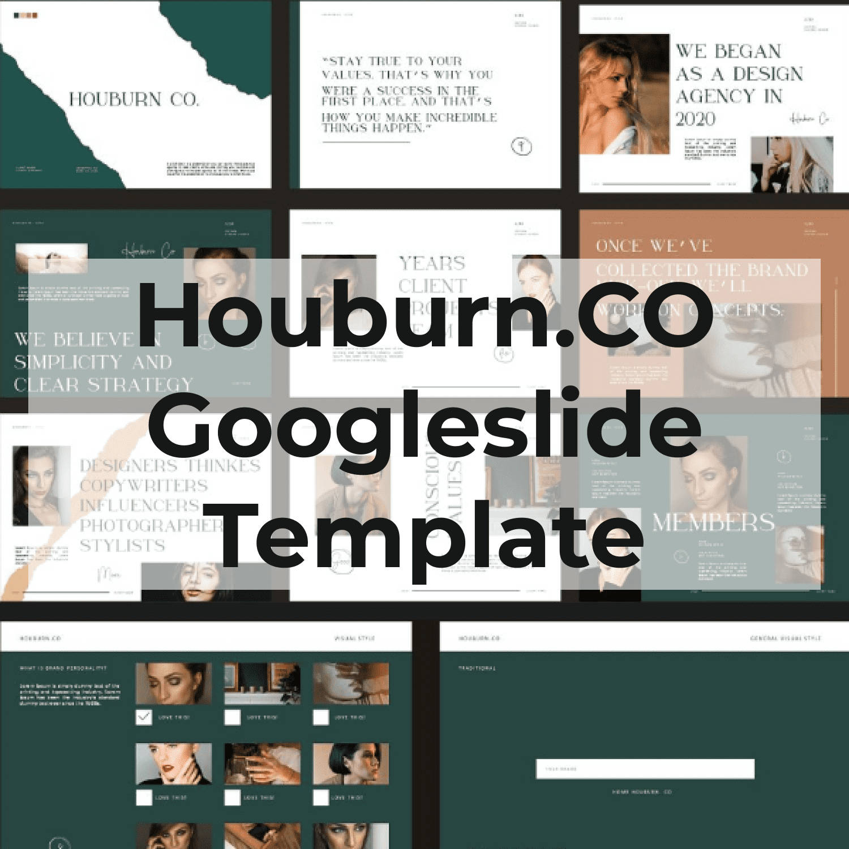 Houburn.CO Googleslide Template main cover.