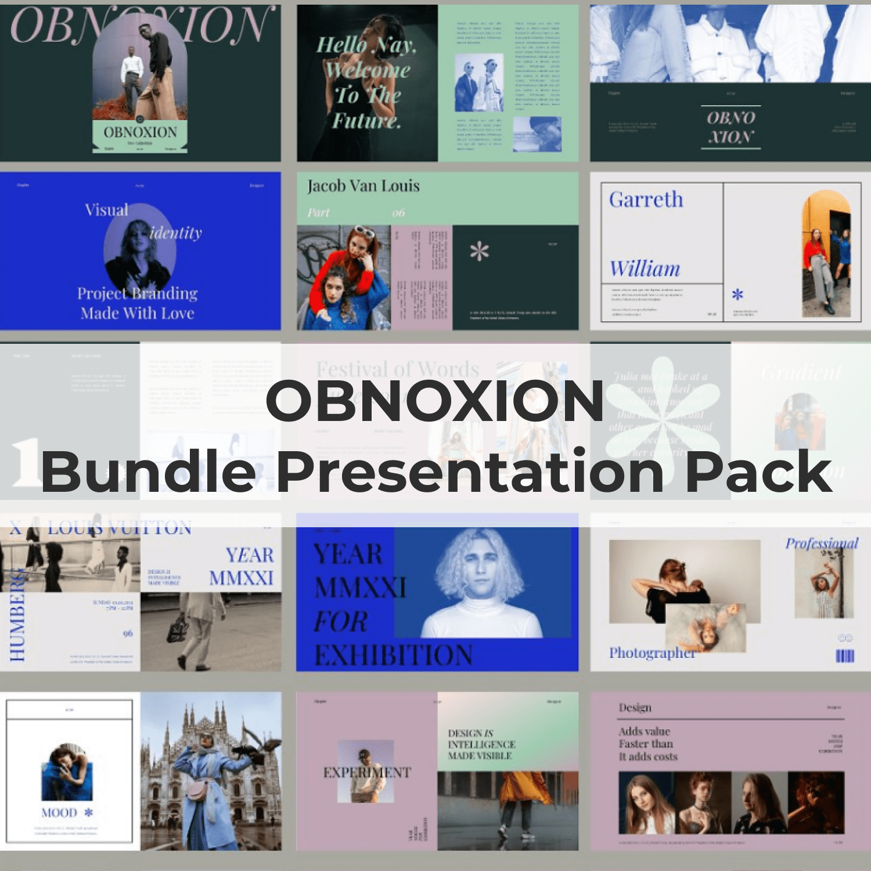 OBNOXION-Bundle Presentation Pack main cover.