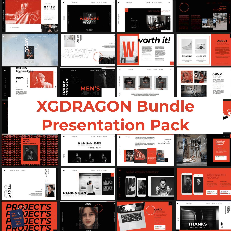 XGDRAGON Bundle Presentation Pack main cover.