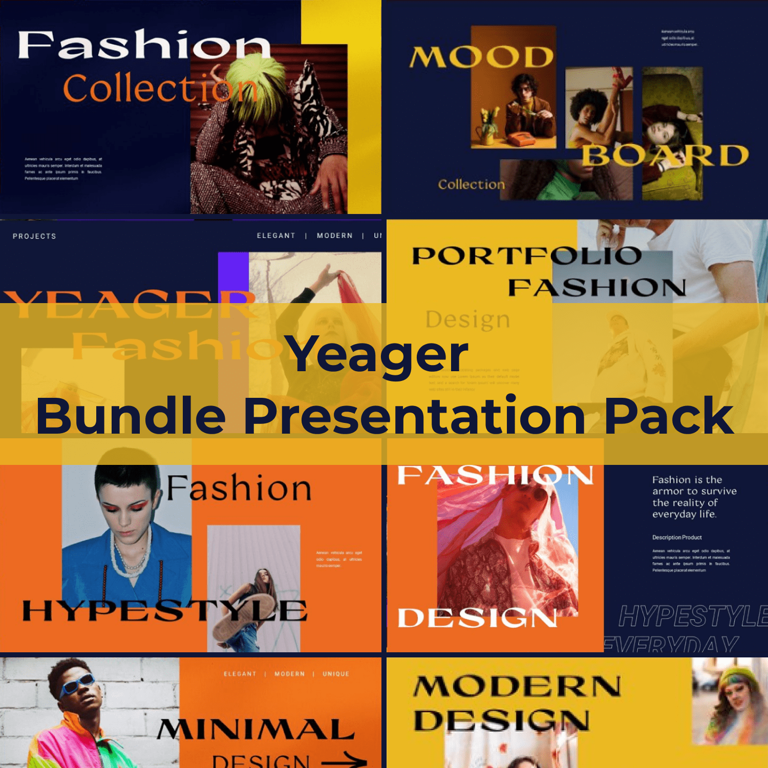 Yeager Bundle Presentation Pack main cover.