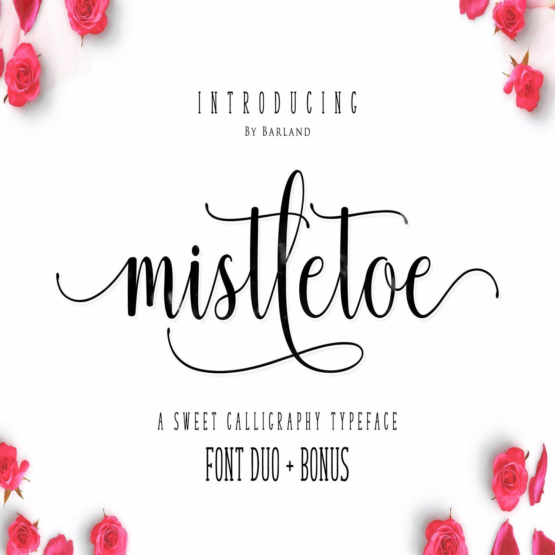 Mistletoe - Font Duo main cover.