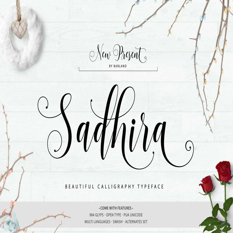Sadhira Script main cover.