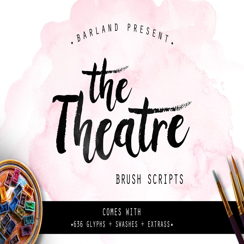 The Theatre Brush main cover.