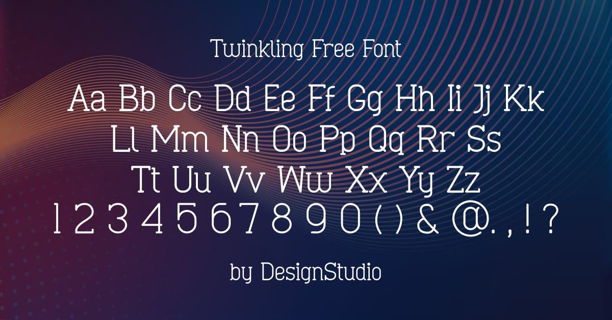 Destiny Monospaced Serif Font.