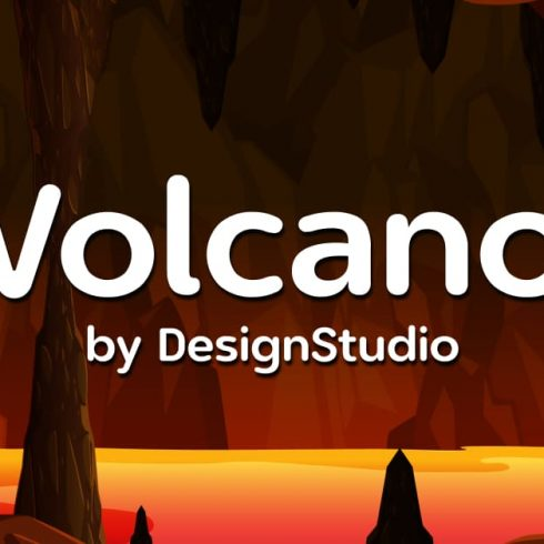 Volcano Monospaced Sans Serif Font Example.