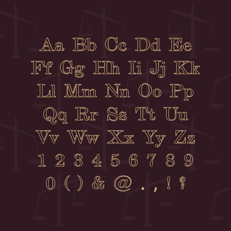 02. Guilty Outline Serif Font 1100 x 1100 1