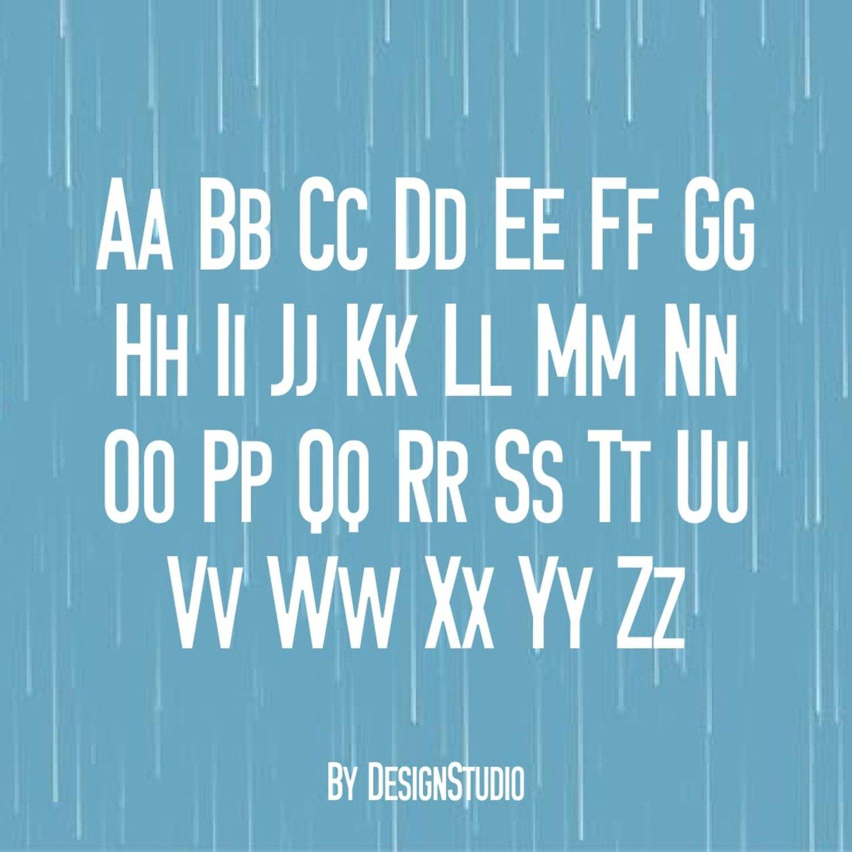 Petrichor Monospaced Sans Serif Font cover image.