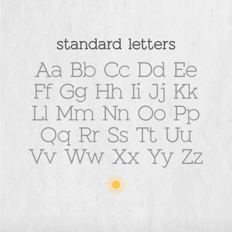Sunshine Slab Sans Serif Font cover image.