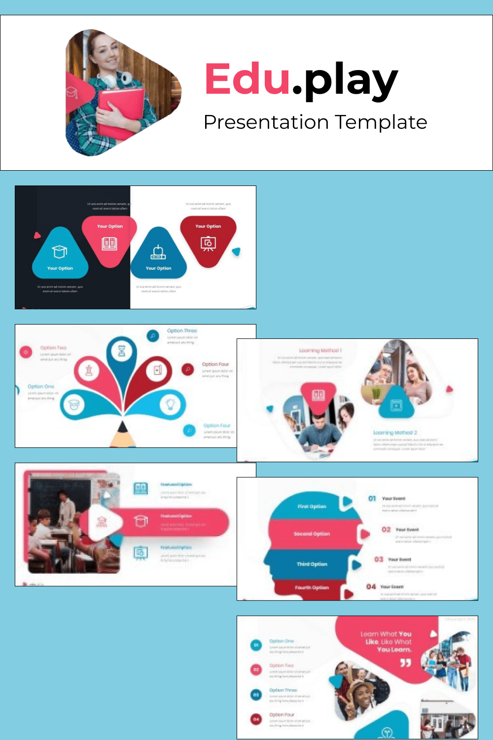 Here you can choose a lot of infographics for simplify convey information.