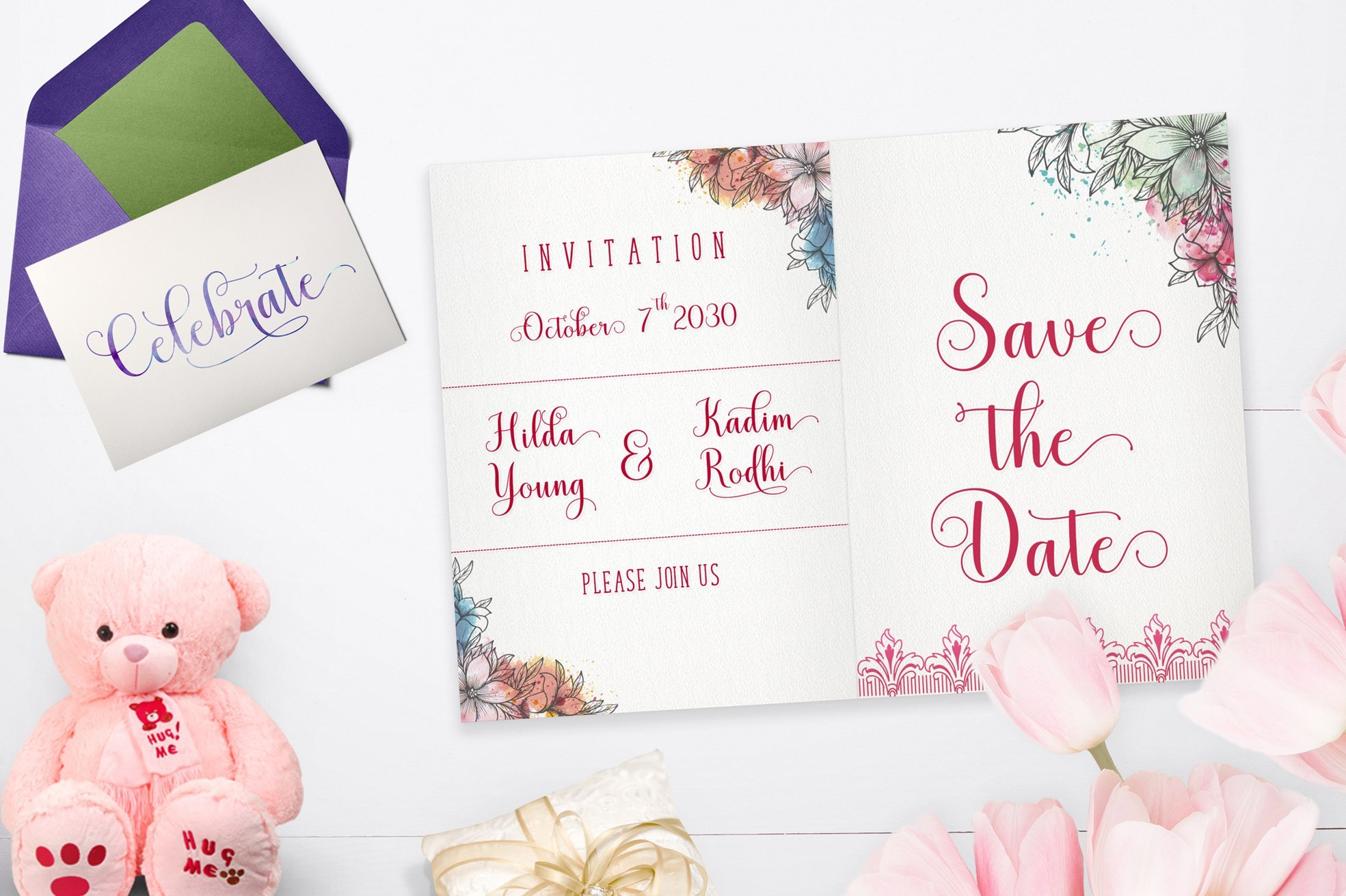 The best font for invitations.