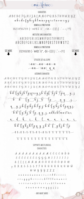 General view of Misletoe Font.