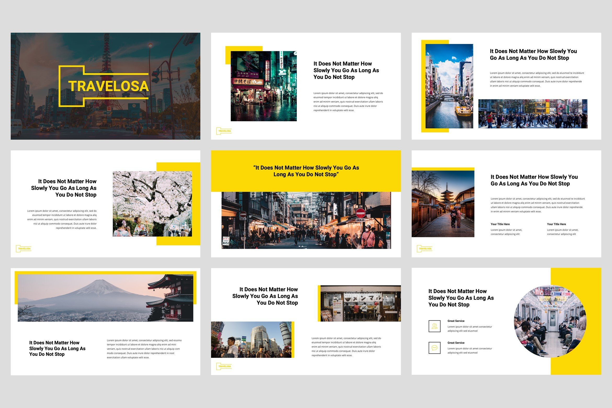 A multifunctional template that will fit perfectly for any business.