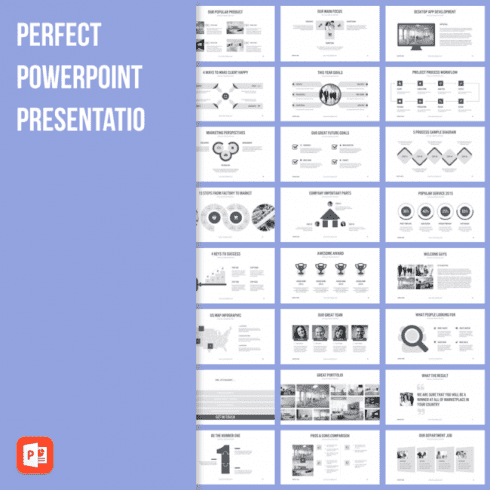 Perfect PowerPoint Presentation main cover.