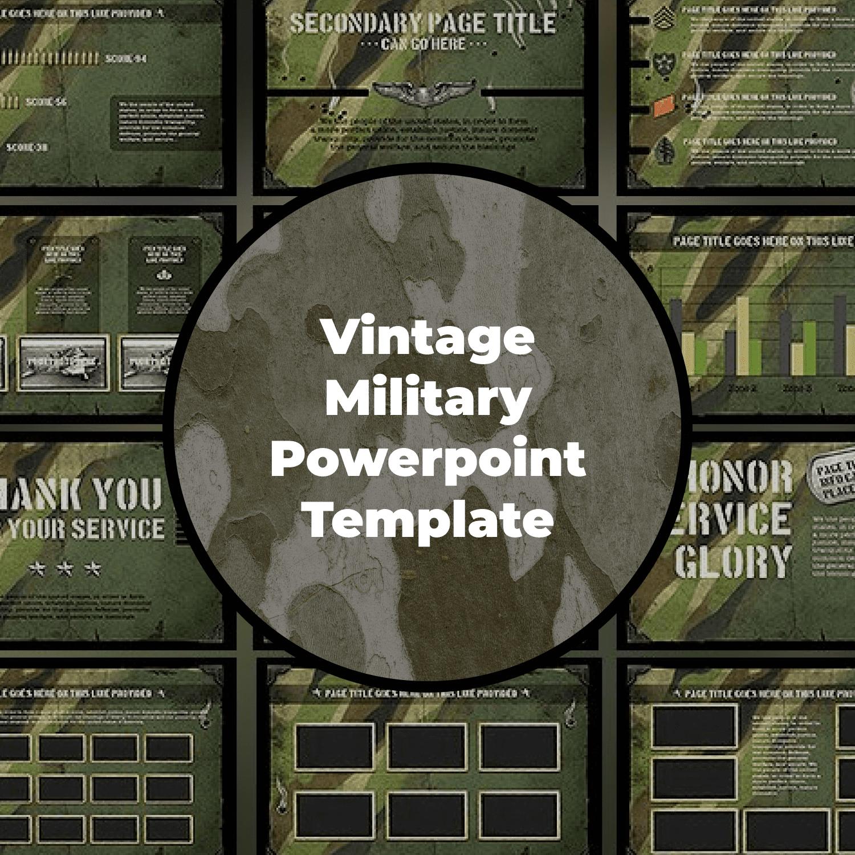 The War Powerpoint Presentation Template
