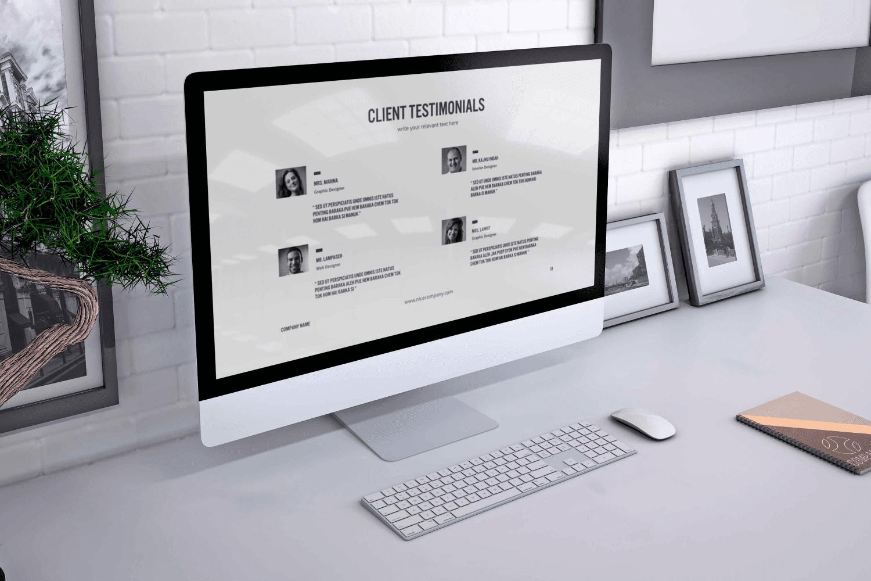 Stylish desktop with Perfect PowerPoint Presentation.
