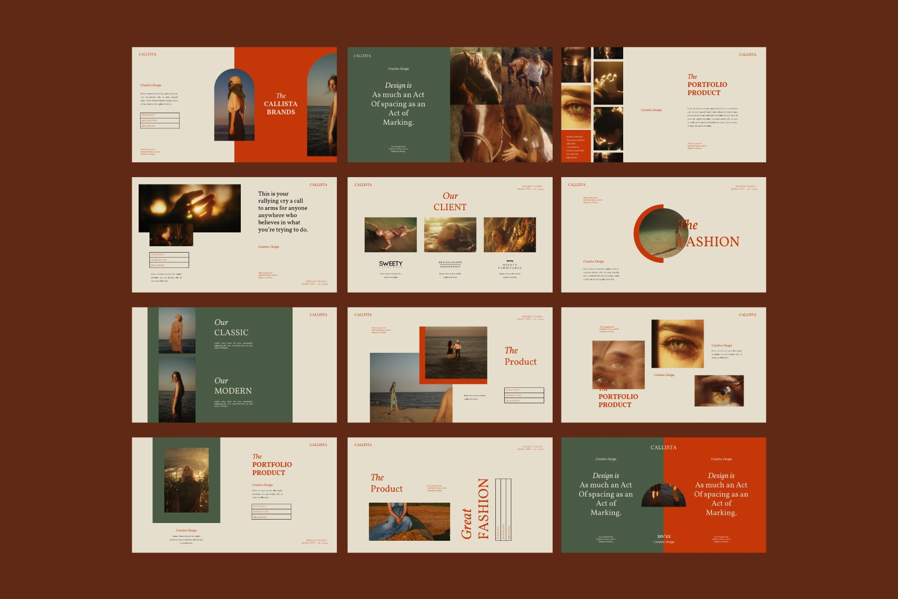 This template is premium for stylish and expensive presentations.