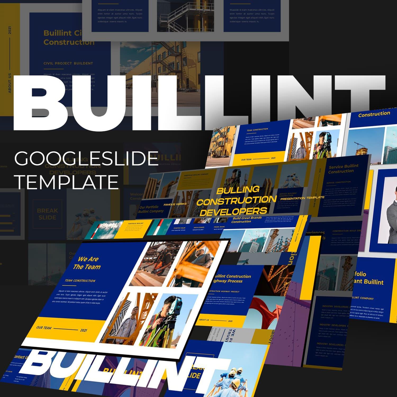 BUILLINT Googleslide Template main cover.