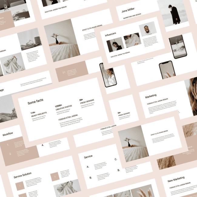 COSA Google Slides Style Template cover image.