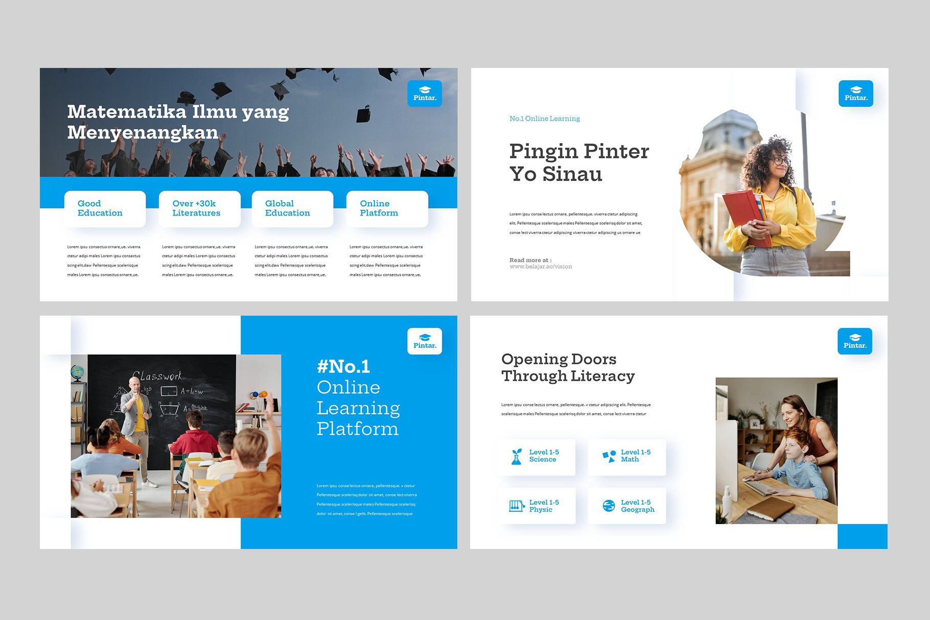 Vivid images and text blocks will help you to convey information in the simplest way.