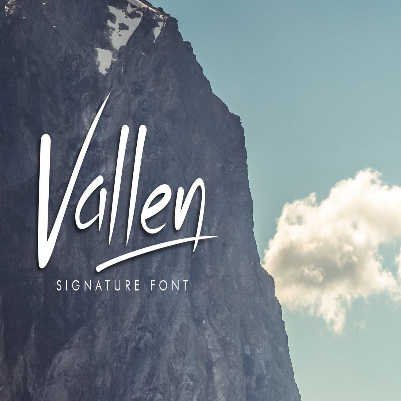 Vallen main cover.