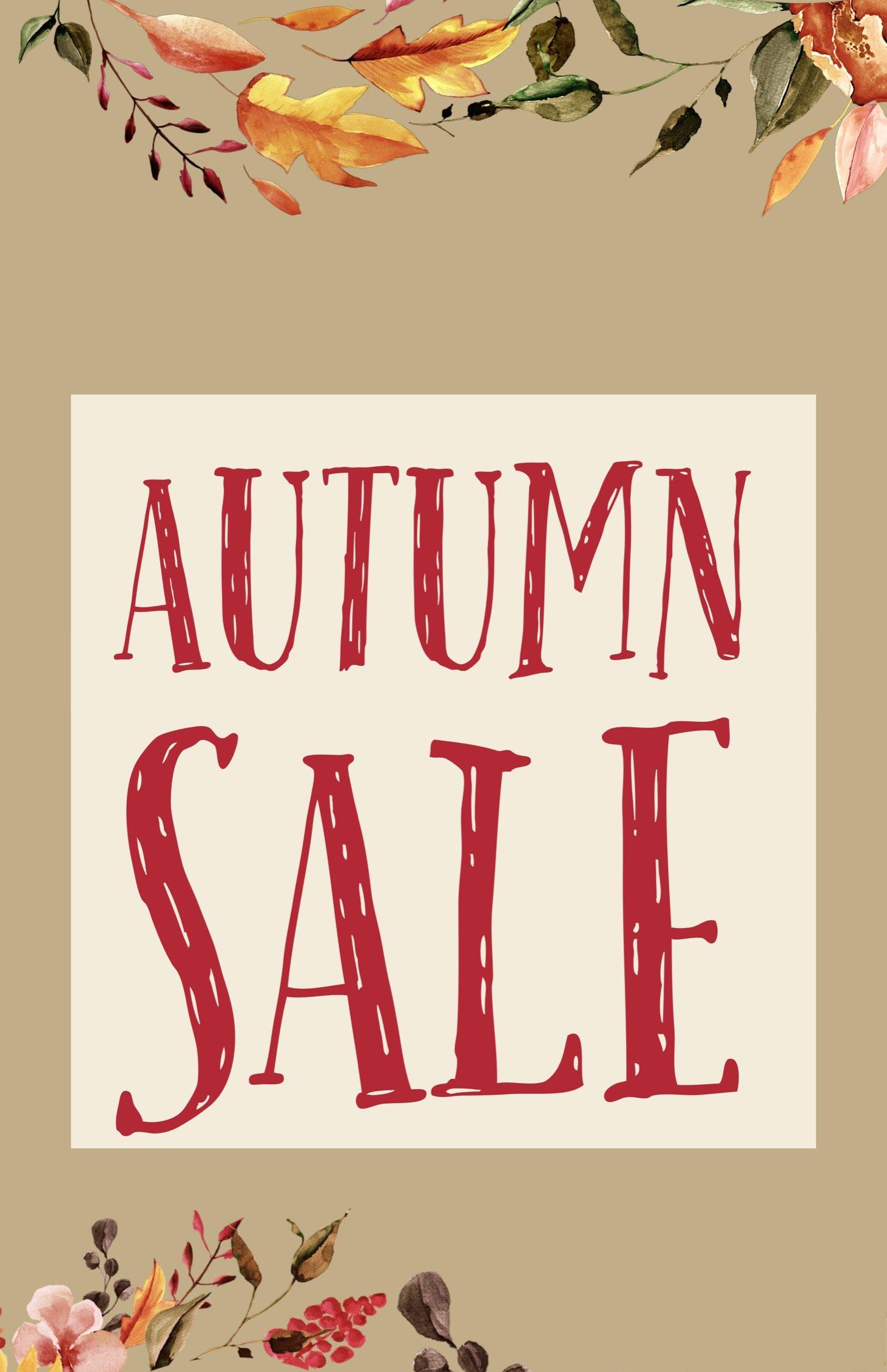 Autumn Sale Example.
