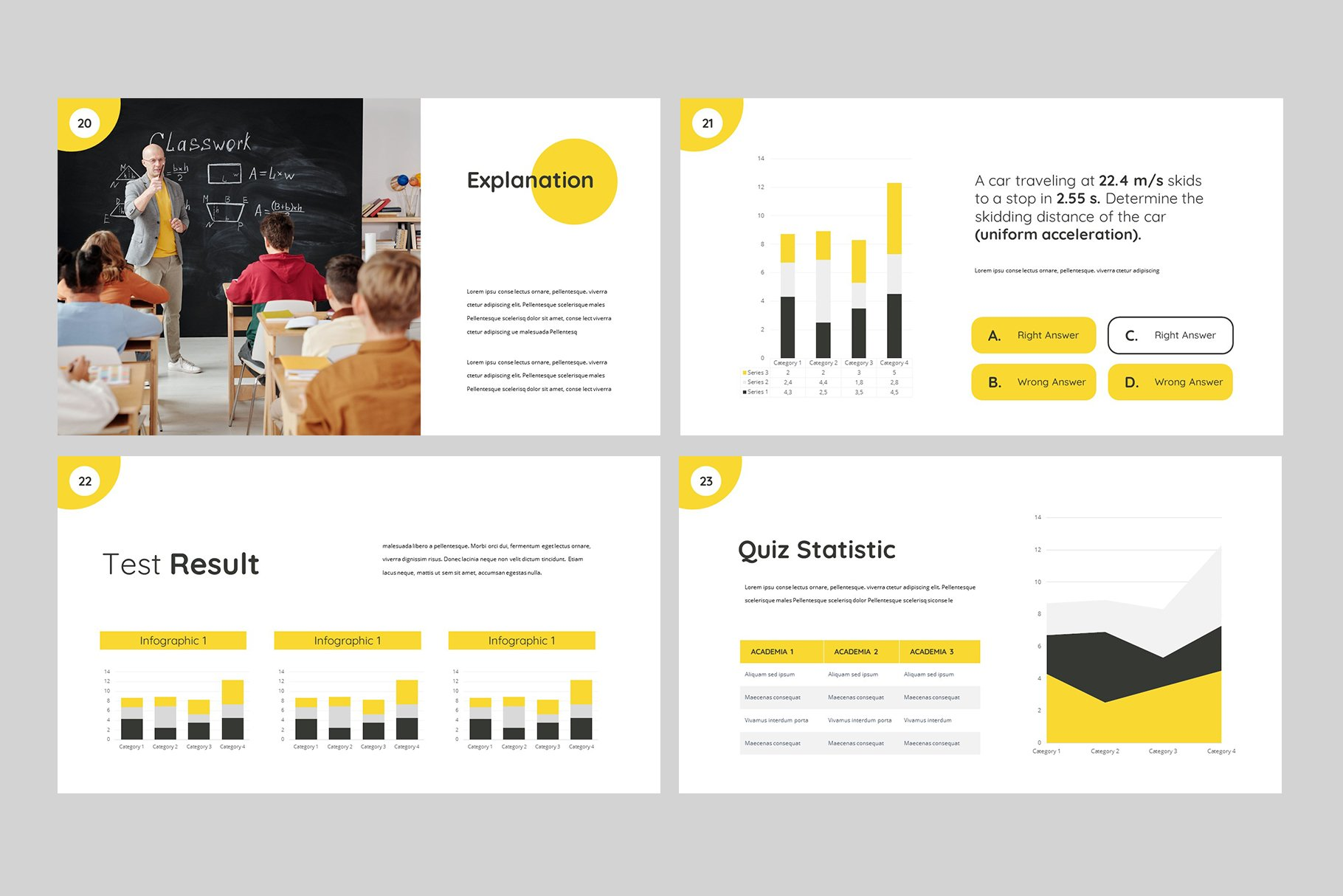 Here you will find a lot of infographics for conveying data.