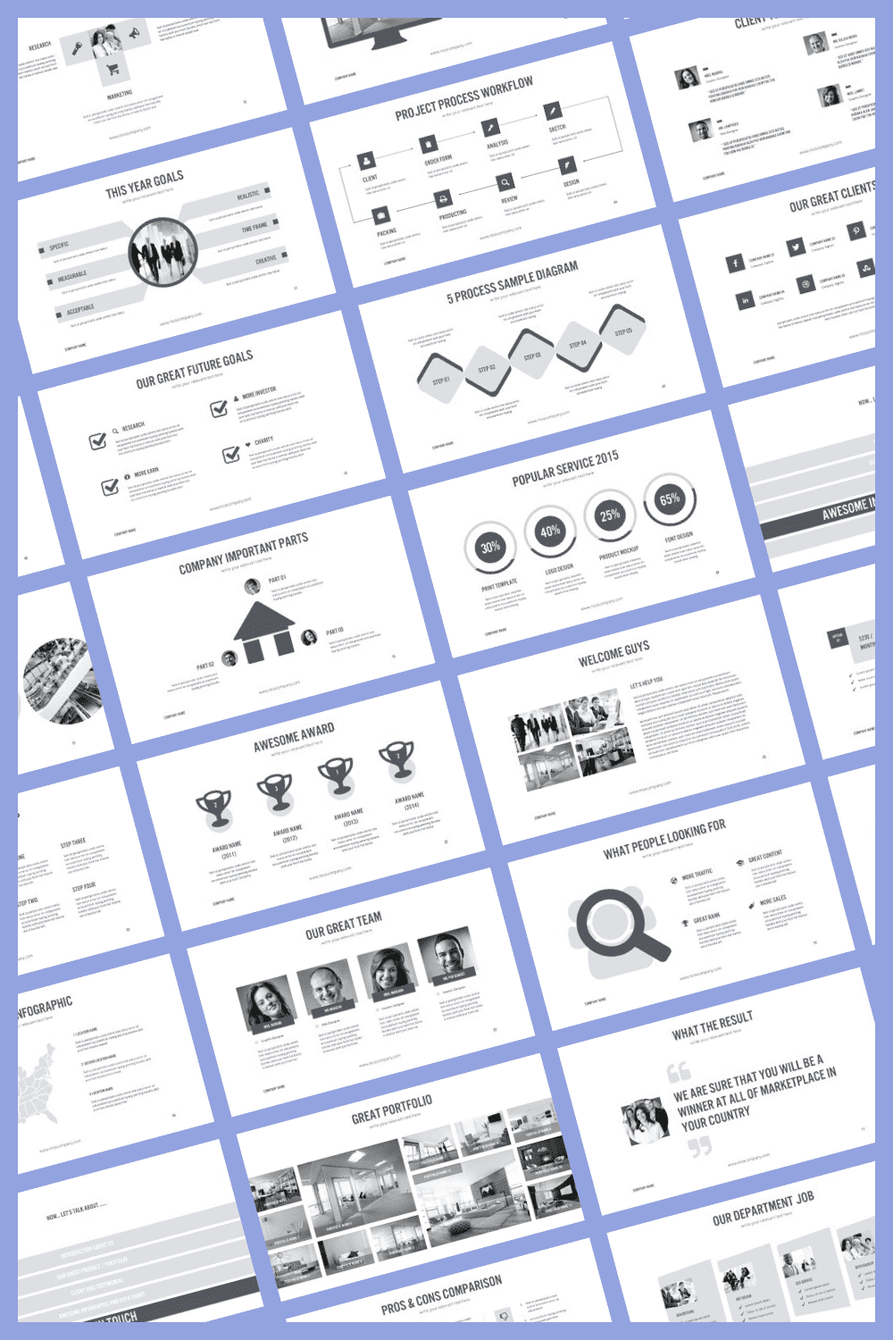 Here are some cool and stylish infographics to make presentation easy.