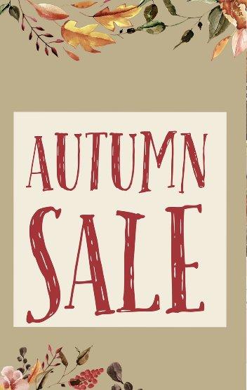 Autumn Sale cover image.